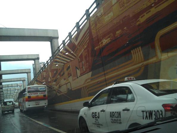 Driving in Manila