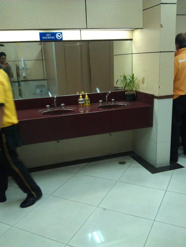 Cleaner washroom