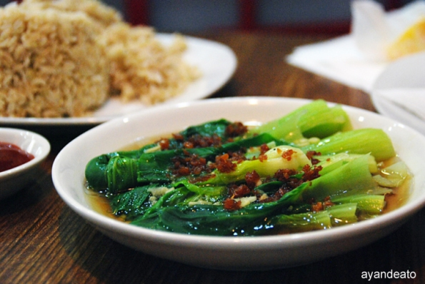 Ho Bi's Garlic Bokchoy