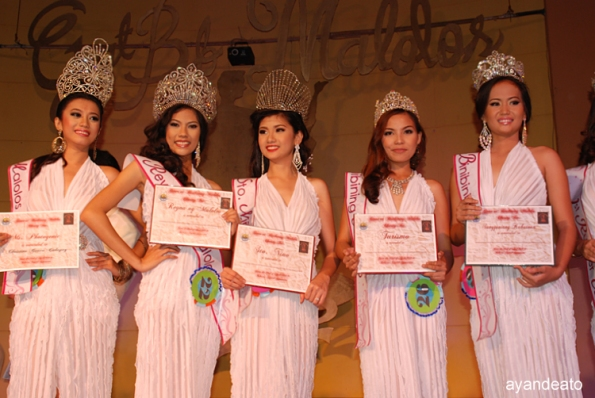 Winners of the Binibining Malolos 2012 Pageant