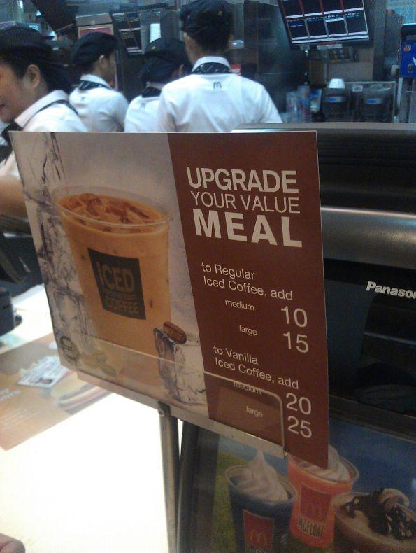 Upgrade to Iced Coffee