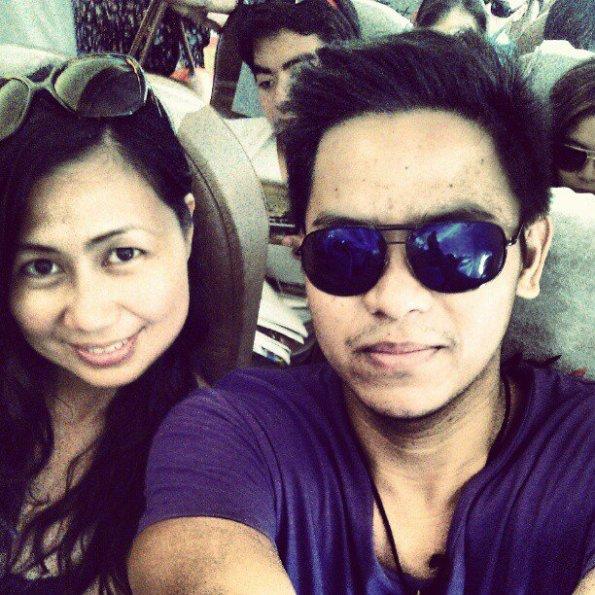 on my way back to Manila
