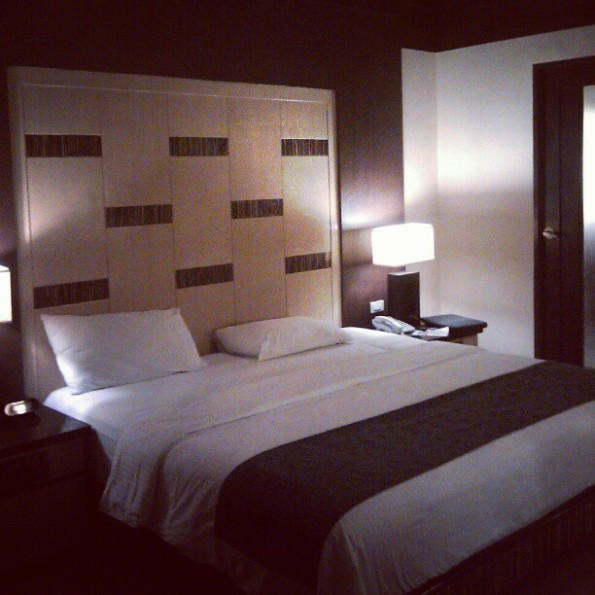 The room at Boracay Regency