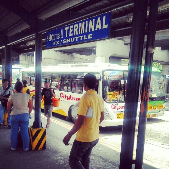 Bus Terminal at Star Mall