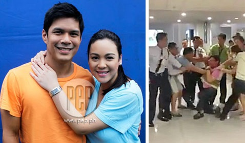 threats to raymart santiago and claudine barretto raymart santiago vs