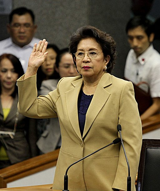 Conchita Carpio-Morales reveals $10M bank account of Corona