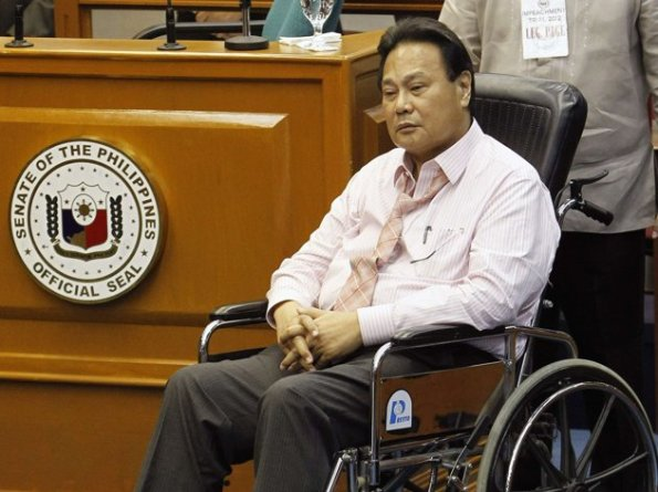 CJ Corona in wheelchair