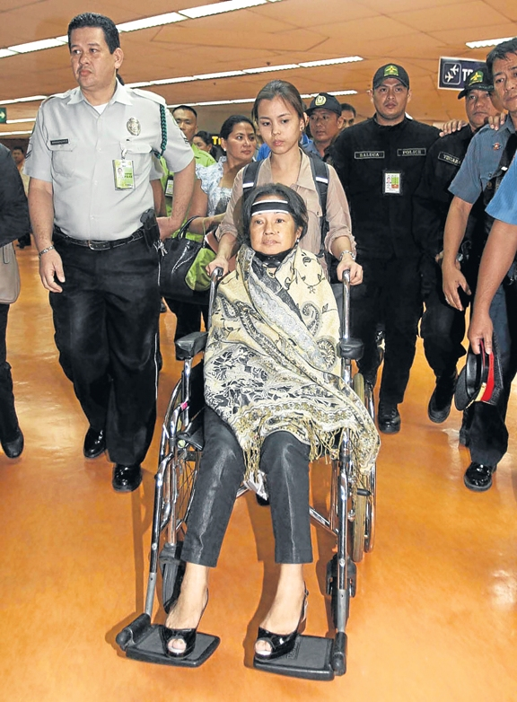 PGMA in wheelchair