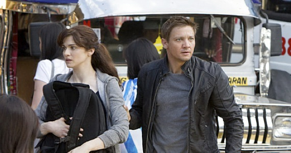 Bourne Legacy Rachel Weisz and Jeremy Renner in Manila