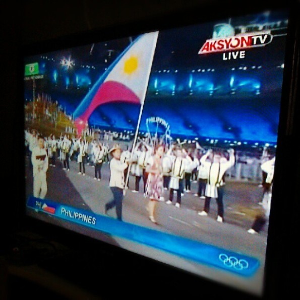 Philippine Team - 2012 London Olympics