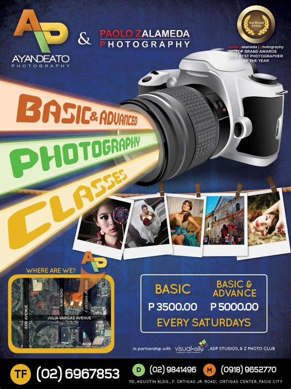 Basic and Advance Photography Classes